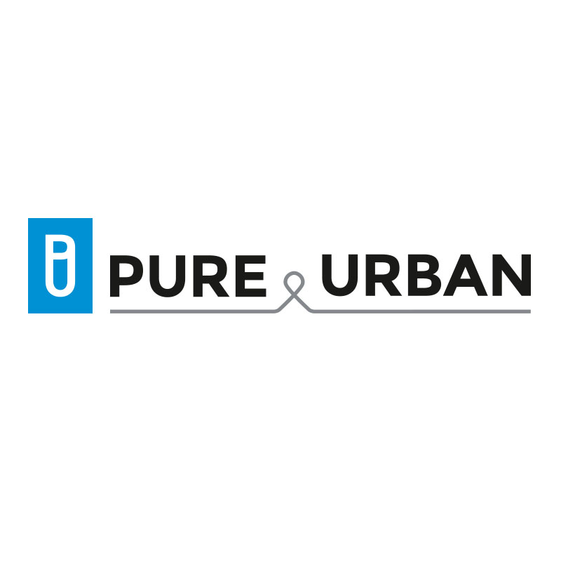 pure and urban Logo