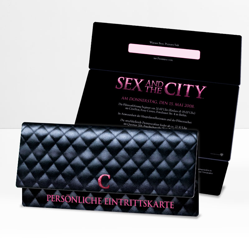 Sex and the city Flyer